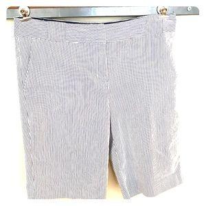 Attention Sz 10 pinstripe shorts